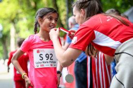 Impressionen vom 9. Koelner Leselauf am 23.05.2019 im Sportpark Muengersdorf in Koeln (Nordrhein-Westfalen). Foto: BEAUTIFUL SPORTS/Axel Kohring
